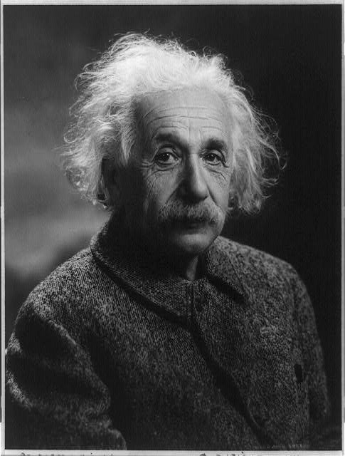 Albert Einstein, 1879-1955, Photograph by Oren Jack Turner, Princeton, N.J., c1947, Library of Congr