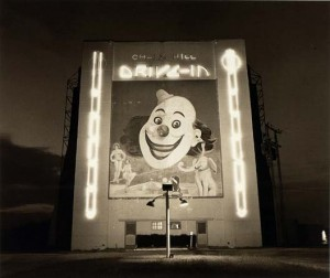 Untitled (Drive-In Movie Clown), Steve Fitch, 1976, Smithsonian American Art Museum Collection