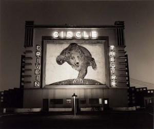 Untitled (Drive-In: Circle Theatre), Steve Fitch, 1976, Smithsonian American Art Museum Collection