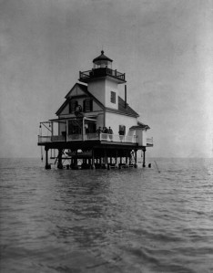 Roanoke River Lighthouse, c. 1880s, by Unidentified photographer, Photographic negative, Smithsonian