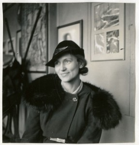 Florence E. Meier Chase, c. 1930s, by Ruel P. Tolman, Smithsonian Institution Archives, Record Unit