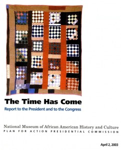 Cover of April 2003 Report to the President and Congress, Smithsonian Institution Archives, Accessio