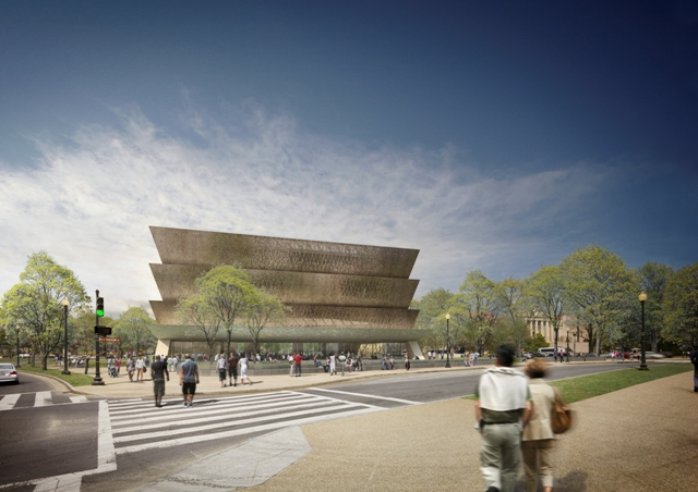 Freelon Adjaye Bond/SmithGroup Design for the Smithsonian's National Museum of African American Hist